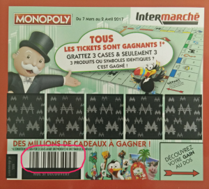 Monopoly Intermarché