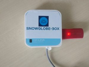 snowglobe box